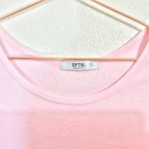 Zumiez Shirts - EPTM | Men's Elongated Light Pink Long Tee | XL
